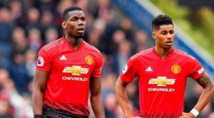 Paul Pogba dan Marcus Rashford Kembali Bela Manchester United