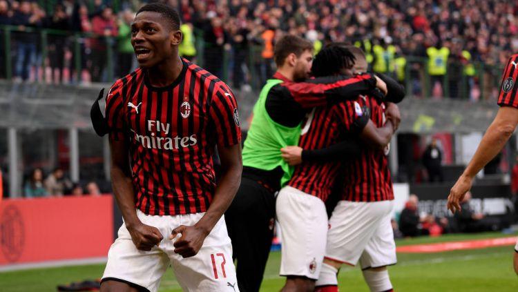 Rafael Leao Kembali Berlatih Bersama AC Milan